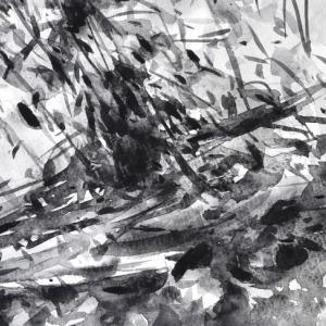 枯木を描く