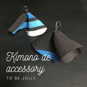 【 kimono de accessory 】お気に入りの着物に穴が開いてしまったこ...