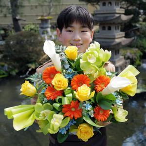 Q2 今日の写真 誕生日のお花