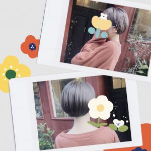 【散髪】カットとカラーしたので見て〜!