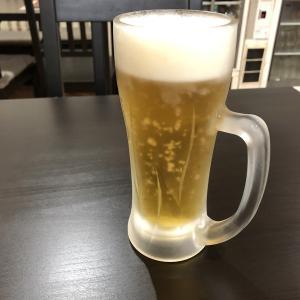 【町中華】週末ムシムシするので生ビール