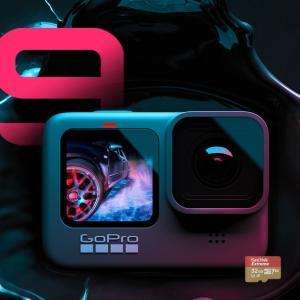 【新製品】GoPro HERO9 Blackを安く買う方法を調査!