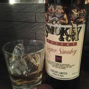 """犬にまつわるお酒~ウィスキー """"サントリー スモーキー&カンパニー スーパースモーキー""""~"""