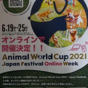 犬のイベント~アニマルワールドカップ 2021 東京~