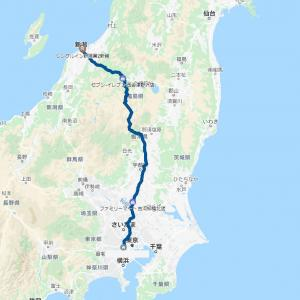 2020 北海道ツーリング01 7/16 東京ー新潟