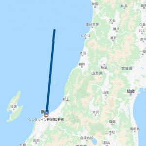 2020 北海道ツーリング02 7/17 新潟ーフェリー