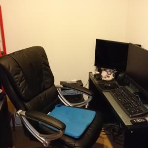 L字型PCデスクをDIY 書斎の模様替え~1