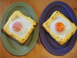 【ジブリ飯】ラピュタパン!オーブンで作る目玉焼きトーストの作り方!