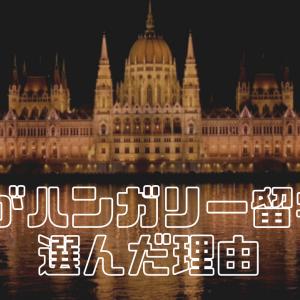 私がハンガリー留学を選んだ理由。