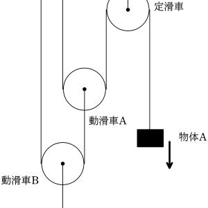 [演習]束縛条件4 2つの動滑車