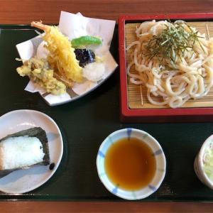 『陽だまりの湯』秋の天ぷらセット、おにぎりを食す。
