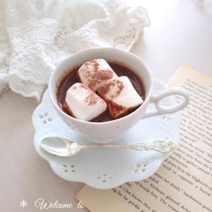 *ホットチョコレートでおうちカフェ*