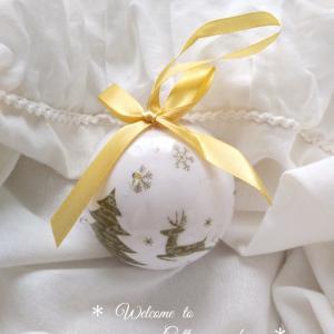 *ダイソーのLEDクリスマスボール*