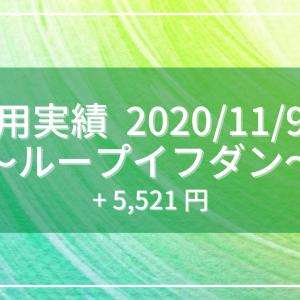 【2020/11/9週】ループイフダン運用実績