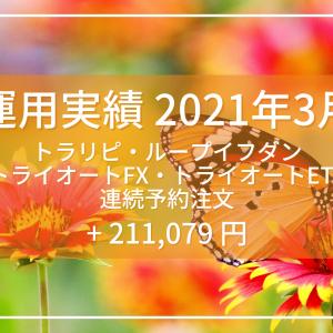 【運用実績】2021年3月