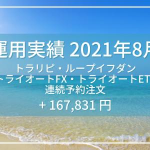 【運用実績】2021年8月