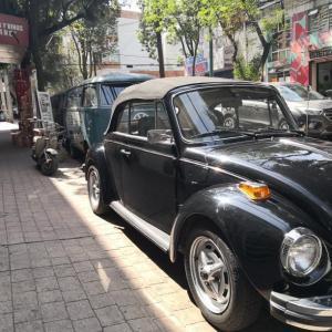 メキシコにはクラシックカーが沢山走っている