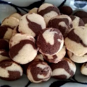 マーブルクッキーとおうちごはん(夕食)