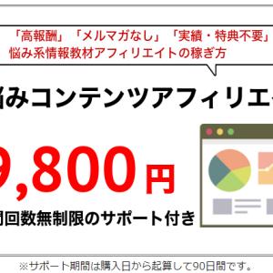 【お悩みコンテンツアフィリエイト】悩み系情報教材で1,000万稼いだアフィリエイトの設計図