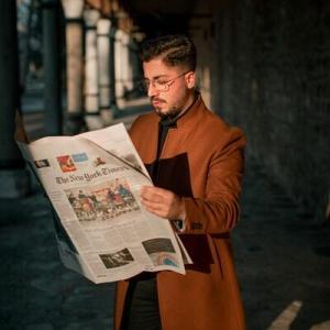 新聞読んでますか