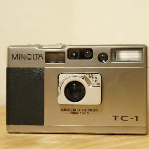 MINOLTAの「TC-1」は至高のコンパクトカメラ
