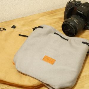 LATZZのスエード調カメラポーチを購入【レビュー】