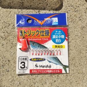 サビキ釣りよりトリック釣りのほうが初心者向き「道具」「子供」