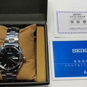 時計修理技能士3級で使う腕時計と外装が同じ物を購入「Cal.7n43」