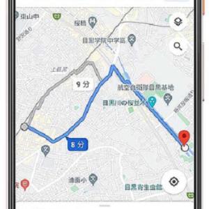 グーグルマップ 自転車ルート