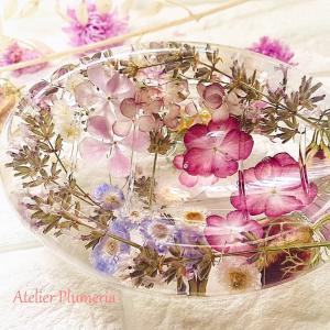 【ボタニック雑貨ディプロマレッスン①】ローラアシュレイのような花柄模様の作品