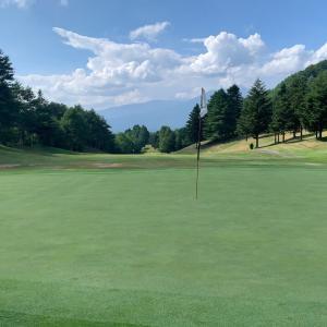 ゴルフ旅行1日目