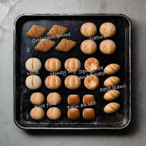 Pan&(パンド)のパンをPhotoレポート~カンタン・時短・冷凍パン
