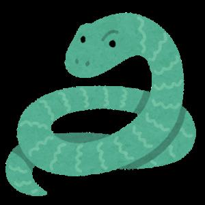 【画像】ヘビ、規則正しい