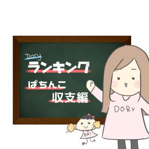 【私的】ランキング【ぱちんこ収支編】