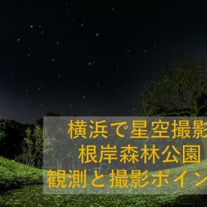 横浜で星空を撮影しよう@根岸森林公園~観測と撮影ポイント
