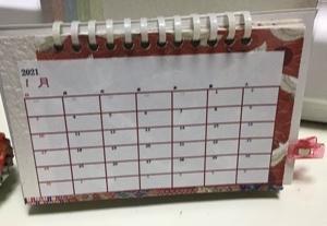卓上カレンダー制作