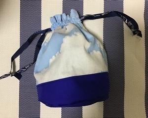 丸底巾着袋の製作
