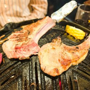 ■えびすジンギスカン 海月 新鮮すぎるラム肉を味わう本格派ジンギスカン