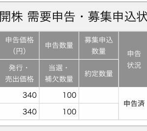 【IPO当選!】QDレーザ(6613)