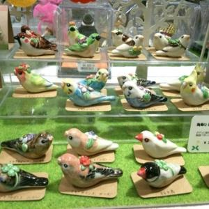 梅田ハンズ「鳥とねこの雑貨展」作品追加しました