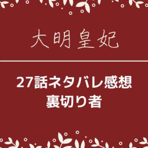 大明皇妃27話ネタバレあらすじと感想!裏切り者!