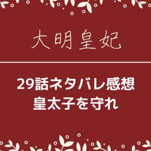 大明皇妃29話あらすじネタバレと感想!戻れない?!