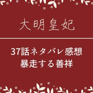 大明皇妃37話ネタバレあらすじと感想!暴走する善祥