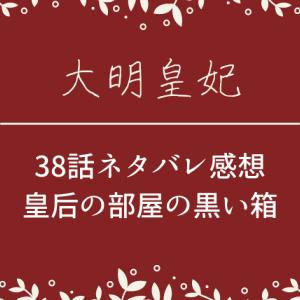 大明皇妃38話ネタバレあらすじと感想!皇后の部屋の黒い箱