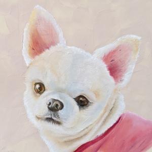 ペット肖像画!メルカリ出品開始しました。