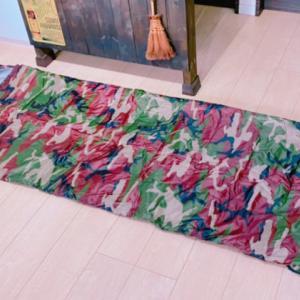 4シーズン使える、体感温度調整に便利な寝袋(シュラフ)用インナーシーツ