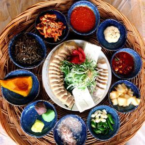 慶州おすすめ맛집♡カルグクスとポッサムの名店