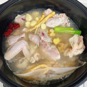 お家でカンタン参鶏湯