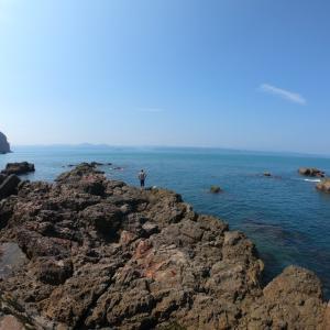 串本大島での釣り…やはりいつも行ってる福井の海とは違う
