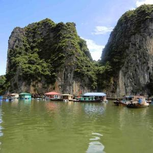 ベトナムのハロン湾のゴミ問題が心配